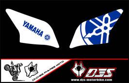 1 jeu de caches phares DJS pour YAMAHA YZF R 125 microperforés qui laissent passer la lumière - référence : YZF-R-125-004