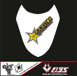 1 cache phare DJS pour Suzuki gsx r 1000 2003-2004 microperforé qui laisse passer la lumière - référence : gsxr 1000-2003-2004-010-