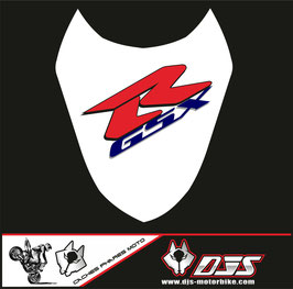 1 cache phare DJS pour Suzuki gsx r 1000 2003-2004 microperforé qui laisse passer la lumière - référence : gsxr 1000-2003-2004-004-