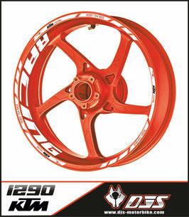 ADHESIFS  de jantes KTM 1290 RACING PREMIUM - JANTES 17 -