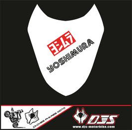1 cache phare DJS pour Suzuki gsx r 1000 2003-2004 microperforé qui laisse passer la lumière - référence : gsxr 1000-2003-2004-011-