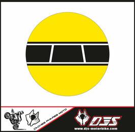 1 jeu de caches phares DJS pour YAMAHA XSR 900 2016-2021 microperforés qui laissent passer la lumière - référence : YAMAHA XSR 900 2016-2021-001-