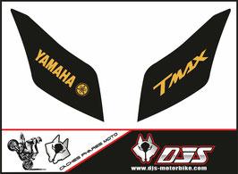 1 jeu de caches phares DJS pour yamaha T-MAX 2012-2016 microperforés qui laissent passer la lumière - référence : T-MAX-2012-2016-002-