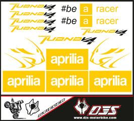 stickers en planche pour APRILIA TUONO V4