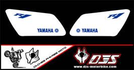 1 jeu de caches phares DJS pour YAMAHA R1 microperforés qui laissent passer la lumière - référence : r1-1998-2003-006-