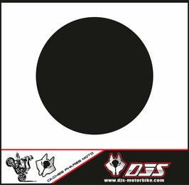 1 jeu de caches phares DJS pour YAMAHA XSR 900 2016-2021 microperforés qui laissent passer la lumière - référence : YAMAHA XSR 900 2016-2021-NOIR-