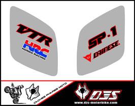 1 jeu de caches phares DJS pour Honda vtr sp1-sp2  microperforés qui laissent passer la lumière - référence : VTR SP1-SP2-012-