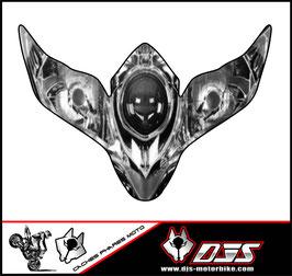 1 jeu de stickers imitation phare DJS pour SUZUKI GSXR 600-750 a coller sur poly - référence : GSXR 600-750-2008-2010-imitation phare