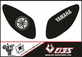 1 jeu de caches phares DJS pour Yamaha T MAX  2001-2008 microperforés qui laissent passer la lumière - référence : T MAX  2001-2008-002-