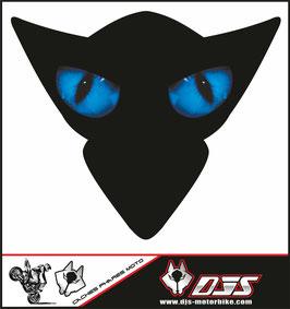 1 cache phare DJS pour SUZUKI GSX-R 1000 2005-2006 microperforé qui laisse passer la lumière - référence : yeux modèle 1-