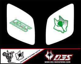 1 jeu de caches phares DJS pour Honda vtr sp1-sp2  microperforés qui laissent passer la lumière - référence : VTR SP1-SP2-018-