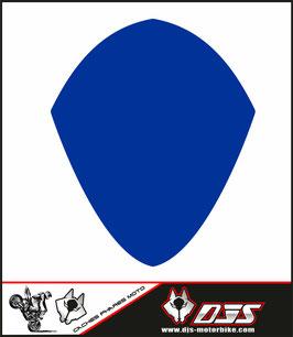 1 cache phare DJS pour SUZUKI GSX-R 1000 2007-2008 microperforé qui laisse passer la lumière - référence : GSXR 1000-2007-2008-couleur uni-