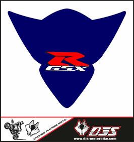 1 cache phare DJS pour Suzuki GSX-R 1000 2005-2006 microperforé qui laisse passer la lumière - référence : gsx-r-1000-2005-2006-005-