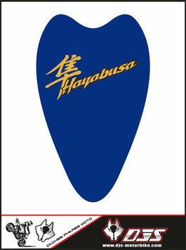 1 cache phare DJS pour Suzuki hayabusa avant 2008 microperforé qui laisse passer la lumière - référence : hayabusa-avant 2008-002-
