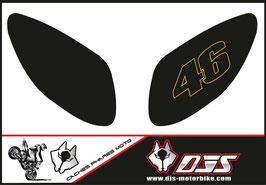 1 jeu de caches phares DJS pour Yamaha T MAX  2001-2008 microperforés qui laissent passer la lumière - référence : T MAX  2001-2008-003-
