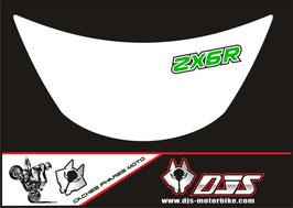 1 cache phare DJS pour Kawasaki zx6r microperforé qui laisse passer la lumière - référence : zx6r-1996-1999-001-