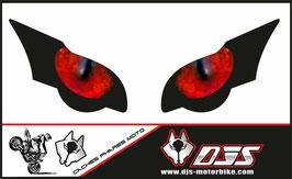 1 jeu de caches phares DJS pour HONDA CBR 1000 RR -2008-2011 microperforés qui laissent passer la lumière - référence : yeux modèle 2-