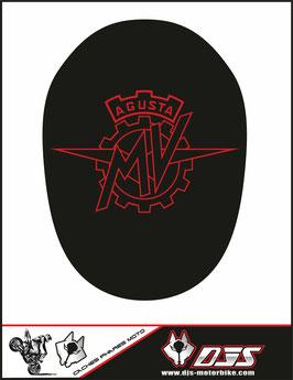 1 jeu de caches phares DJS pour MV AGUSTA BRUTALE 1090 R 2012-2015 microperforés qui laissent passer la lumière - référence : MV AGUSTA BRUTALE 1090 R 2012-2015-001-
