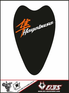 1 cache phare DJS pour Suzuki hayabusa avant 2008 microperforé qui laisse passer la lumière - référence : hayabusa-avant 2008-006-