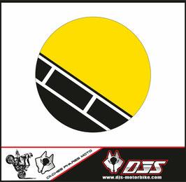 1 jeu de caches phares DJS pour YAMAHA XSR 900 2016-2021 microperforés qui laissent passer la lumière - référence : YAMAHA XSR 900 2016-2021-002-