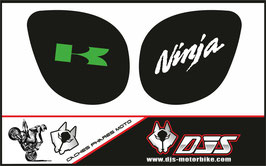 1 jeu de caches phares DJS pour Kawasaki zx7r 1999 microperforés qui laissent passer la lumière - référence : zx7-r-1999-005-