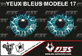 1 jeu de caches phares DJS pour BMW S 1000 RR 2009-2014 microperforés qui laissent passer la lumière - référence : yeux modèle 17-