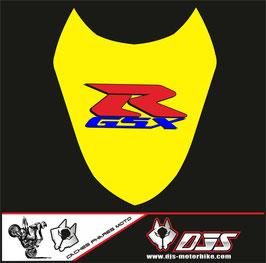 1 cache phare DJS pour Suzuki gsx r 1000 2003-2004 microperforé qui laisse passer la lumière - référence : gsxr 1000-2003-2007-009-