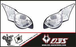 1 jeu de stickers imitation phare DJS pour HONDA CBR RR a coller sur poly - référence : CBR 1000-2008-2009-imitation phare