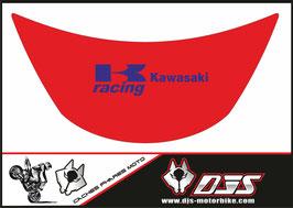 1 cache phare DJS pour Kawasaki zx6r microperforé qui laisse passer la lumière - référence : zx6r-1996-1999-005-