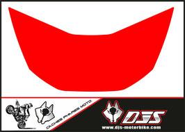 1 cache phare DJS pour Honda CBR 929 microperforé qui laisse passer la lumière - référence : CBR 929-2000-2002-couleur uni-