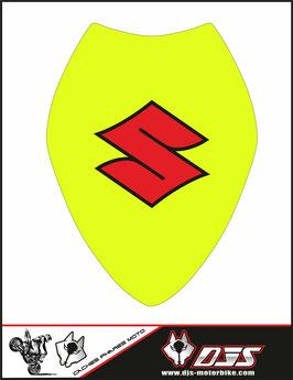 1 cache phare DJS pour Suzuki gsx-r 1000 2017-2018 microperforé qui laisse passer la lumière - référence : gsx-r 1000-2017-2018-005-