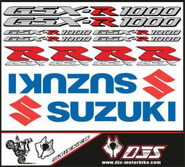 stickers en planche pour SUZUKI GSX-R 1000 MODELE 2 -