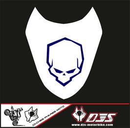 1 cache phare DJS pour Suzuki gsx r 1000 2003-2004 microperforé qui laisse passer la lumière - référence : gsxr 1000-2003-2004-015-