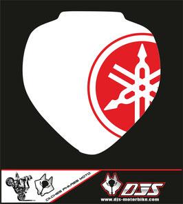 1 jeu de caches phares DJS pour YAMAHA FZ6 NACKED 2008 microperforés qui laissent passer la lumière - référence : FZ6-2008-001-