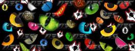 1 jeu de caches phares DJS pour YAMAHA T MAX  2001-2008-  microperforés qui laissent passer la lumière - référence : T MAX  2001-2008 - IMPRESSION YEUX AUX CHOIX-
