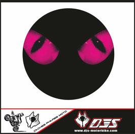 1 cache phare DJS pour SUZUKI bandit  microperforés qui laisse passer la lumière - référence : bandit phare rond-001-