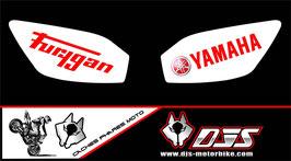 1 jeu de caches phares DJS pour YAMAHA r6 1999-2002 microperforés qui laissent passer la lumière - référence : r6-1999-2002-020