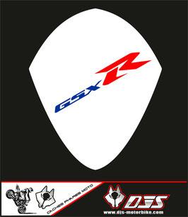 1 cache phare DJS pour SUZUKI GSX-R 1000 2007-2008 microperforé qui laisse passer la lumière - référence : GSXR 1000-2007-2008-007-
