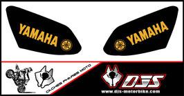 jeu de caches phares DJS pour YAMAHA R1 2007-2008 microperforé qui laissent passer la lumière - référence : r1-2007-2008-032-