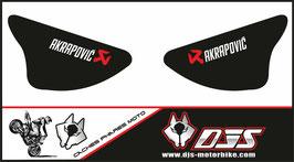 1 jeu de caches phares DJS pour Kawasaki zx6r microperforé qui laisse passer la lumière - référence : ZX6R-2003-2004-012-