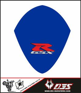 1 cache phare DJS pour SUZUKI GSX-R 1000 2007-2008 microperforé qui laisse passer la lumière - référence : GSXR 1000-2007-2008-010-