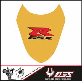 1 cache phare DJS pour Suzuki gsx r 1000 2003-2004 microperforé qui laisse passer la lumière - référence : gsxr 1000-2003-2004-014-