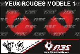 1 cache phare DJS pour SUZUKI GSX-R-2000-2003 microperforé qui laisse passer la lumière - référence : yeux modèle 1-