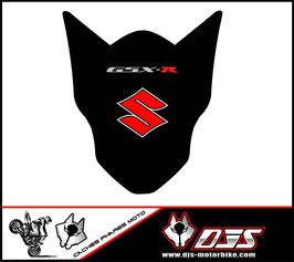 1 jeu de caches phares DJS pour Suzuki GSX-R 600-750 2011-2016 microperforés qui laissent passer la lumière - référence : gsx-r-600-750-2011-2016-003-