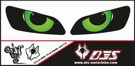 1 jeu de caches phares DJS pour HONDA CBR RR 600-1000 2003-2007 microperforés qui laissent passer la lumière - référence : yeux modèle 9-