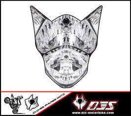 1 jeu de stickers phares DJS pour suzuki gsxr a coller sur poly - référence :gsxr-2011-2016-imitation phare