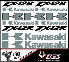 stickers en planche pour KAWASAKI ZX12R