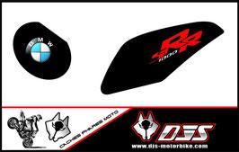1 jeu de caches phares DJS pour BMW S1000RR microperforés qui laissent passer la lumière - référence : S1000RR-2009-2014-006