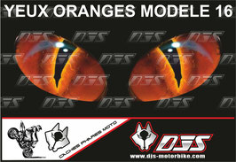 1 jeu de caches phares DJS pour TRIUMPH speed triple-2011-2015 microperforés qui laissent passer la lumière - référence : yeux modèle 16-