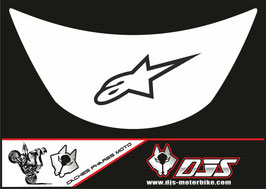 1 cache phare DJS pour Kawasaki zx6r microperforé qui laisse passer la lumière - référence : zx6r-1996-1999-002-